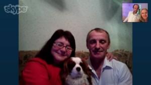 Нина со всей семьей