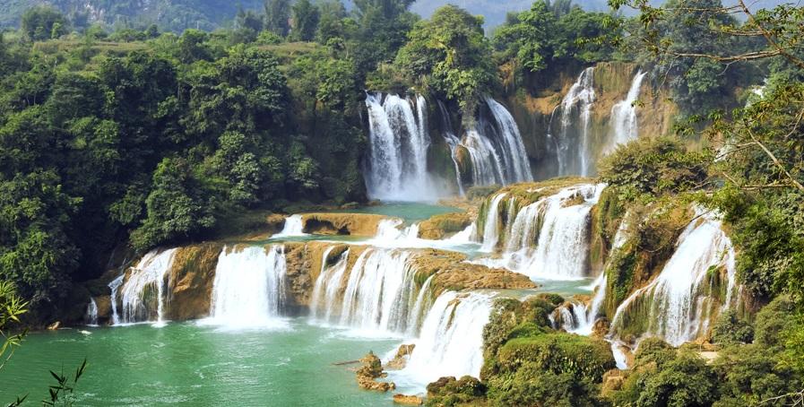Detian waterfall, Guangxi,China
