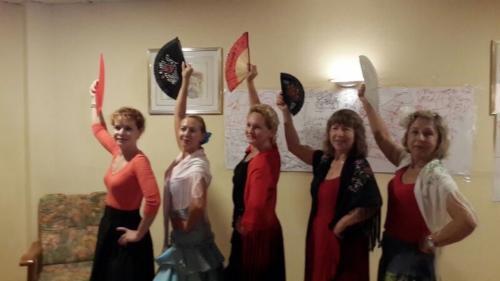 Уроки фламенко